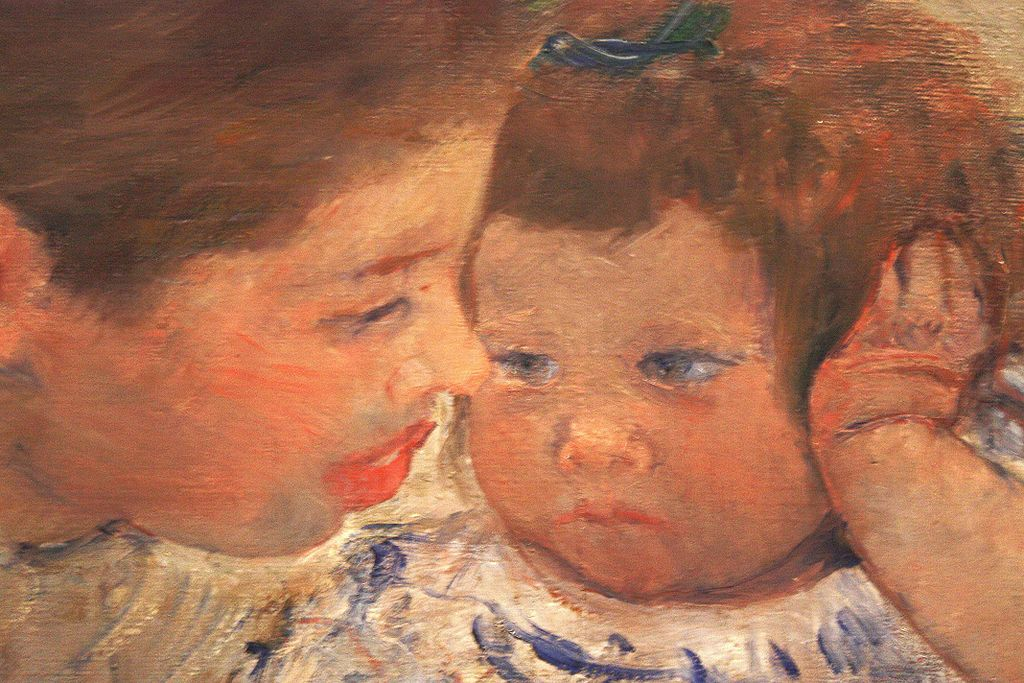 susan comforting baby essay Susan comforting the baby  this is a famous painting by mary cassatt (1844-1926) and a wonderful example of impressionism cassatt is most famous for domestic scenes, such as this, though she herself never married or had her own children.
