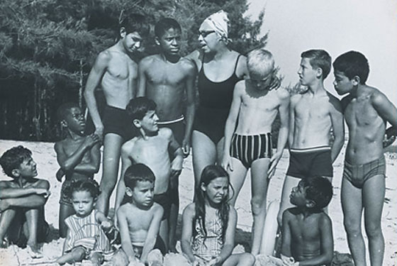 Josephine Baker and her rather unconventional family.