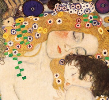 """The Three Ages of Woman"", detail, Klimt."