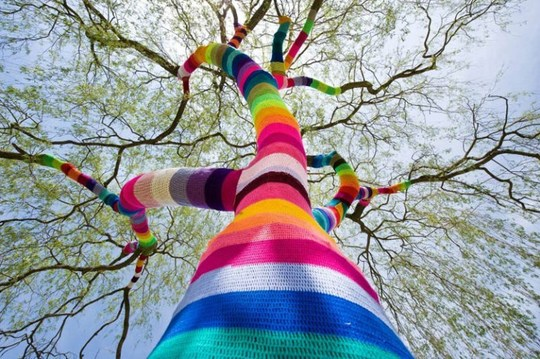 Knit Graffiti