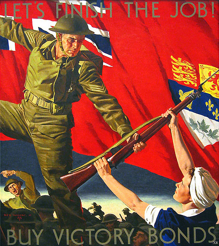 Canadian WWII Poster