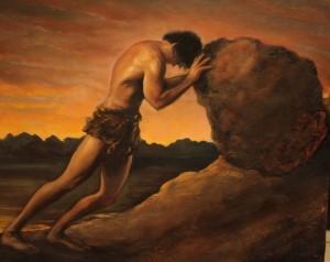 Sisyphus, artist unknown