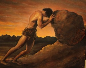 Sisyphus, artist unknown